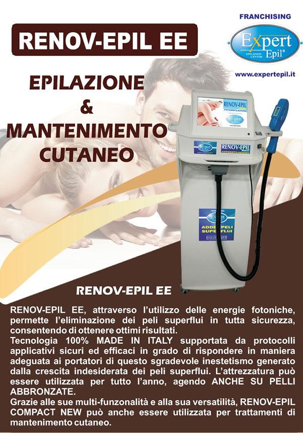 epilazione e mantenimento cutaneo