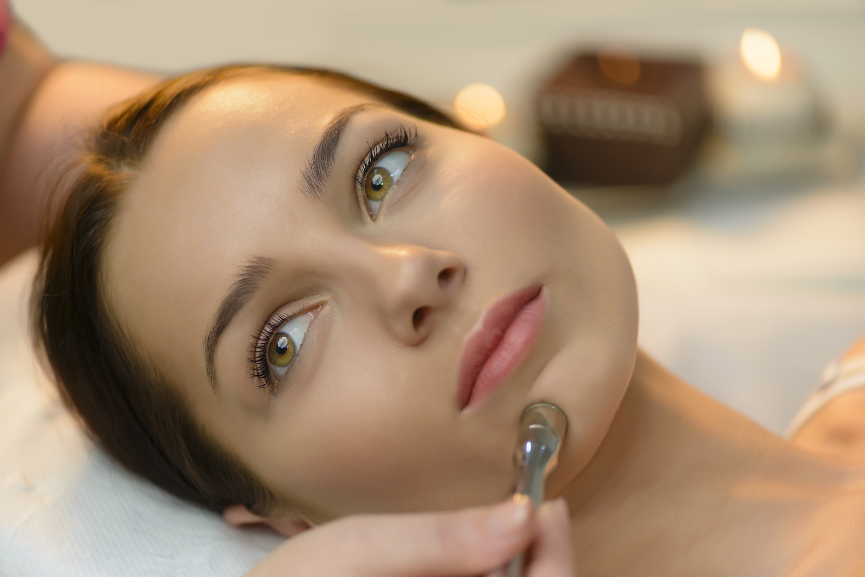 Microdermabrasion At Beauty Salon
